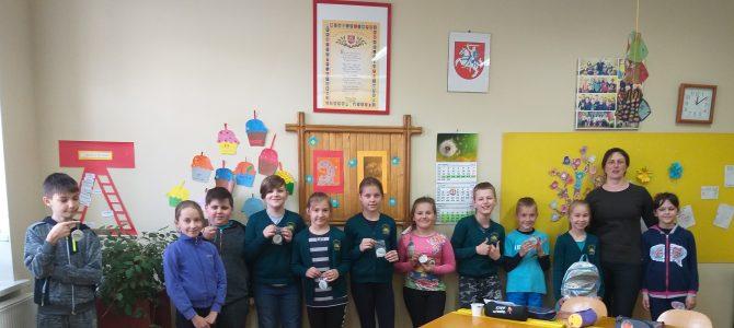 Saugaus eismo iniciatyva Stoniškių ir Vilkyškių mokyklose