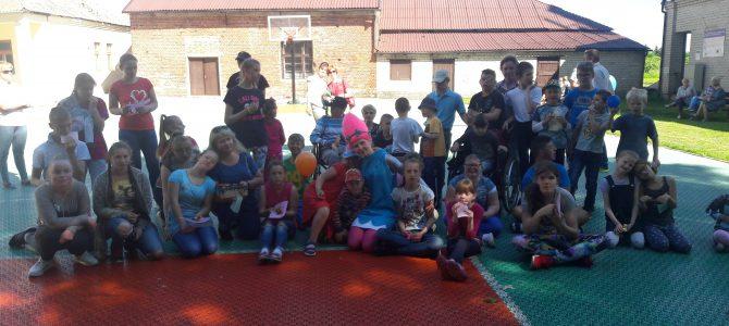 """Renginys """"Judėjimas – tai sveikata"""" Rusnės specialiojoje mokykloje"""
