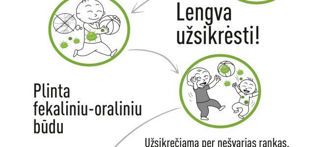 Sumažėjo susirgimų rotavirusine infekcija – tai suaktyvėjusių skiepijimų rezultatas