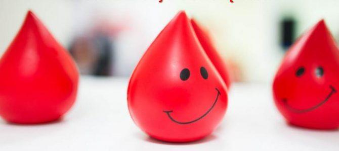 Birželio 14- oji – Pasaulinė kraujo donorų diena!