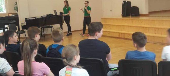 Šilutės Pamario pagrindinėje mokykloje vyko renginys apie sveiką gyvenseną