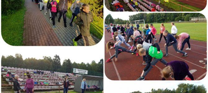 """""""Sporto maratonas"""" Šilutės Žibų pradinėje mokykloje"""